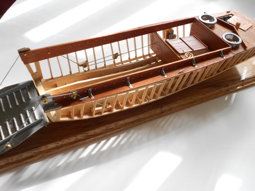 The Wooden Higgins Boat